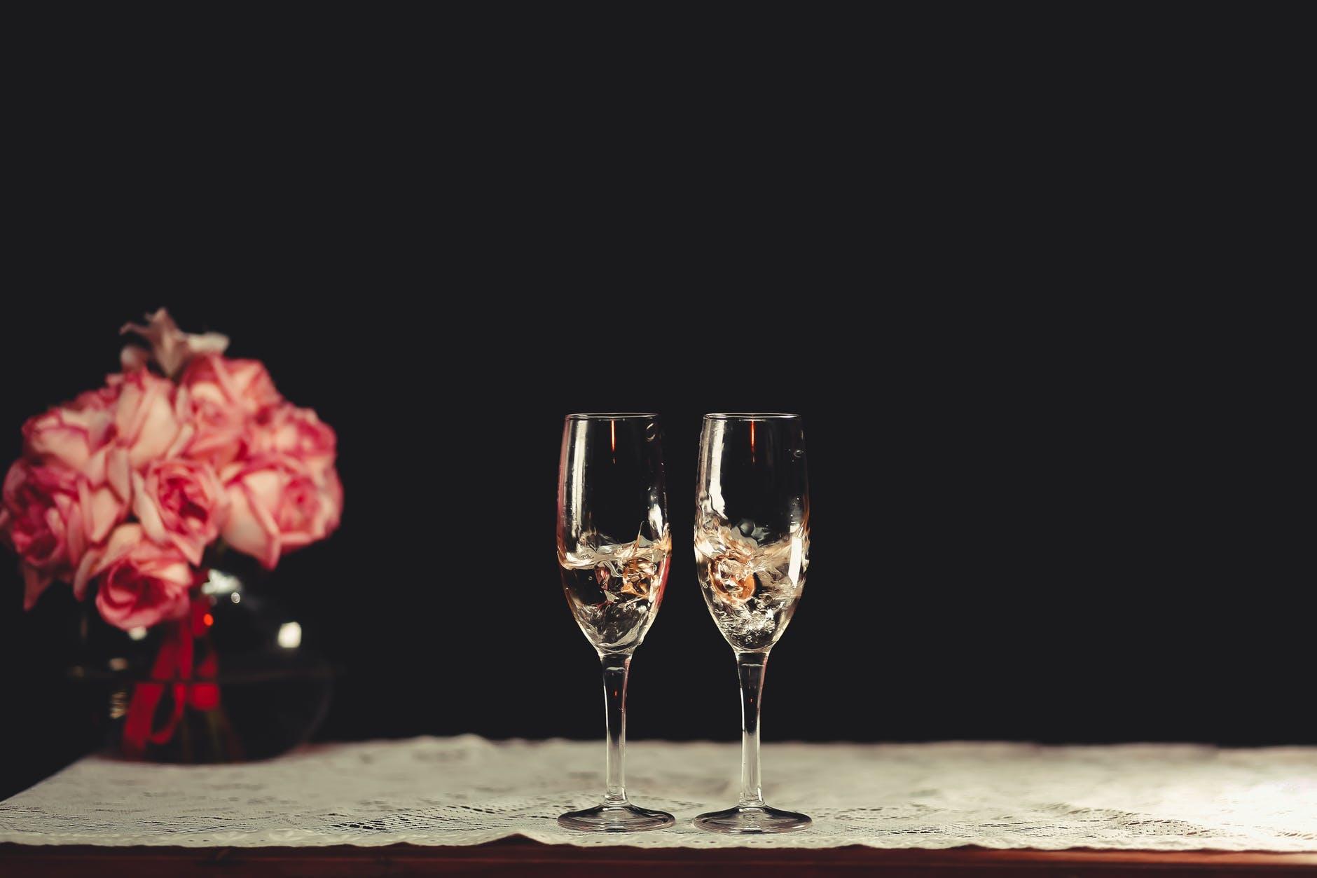 Alkoholfri champagne er et sundere alternativ